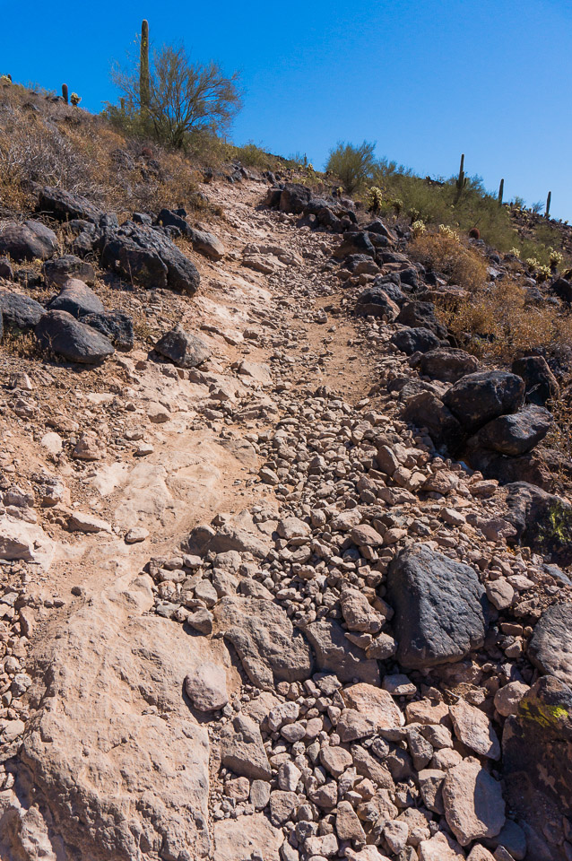 Deem Hills Trail - Rocky / Washed Out Section