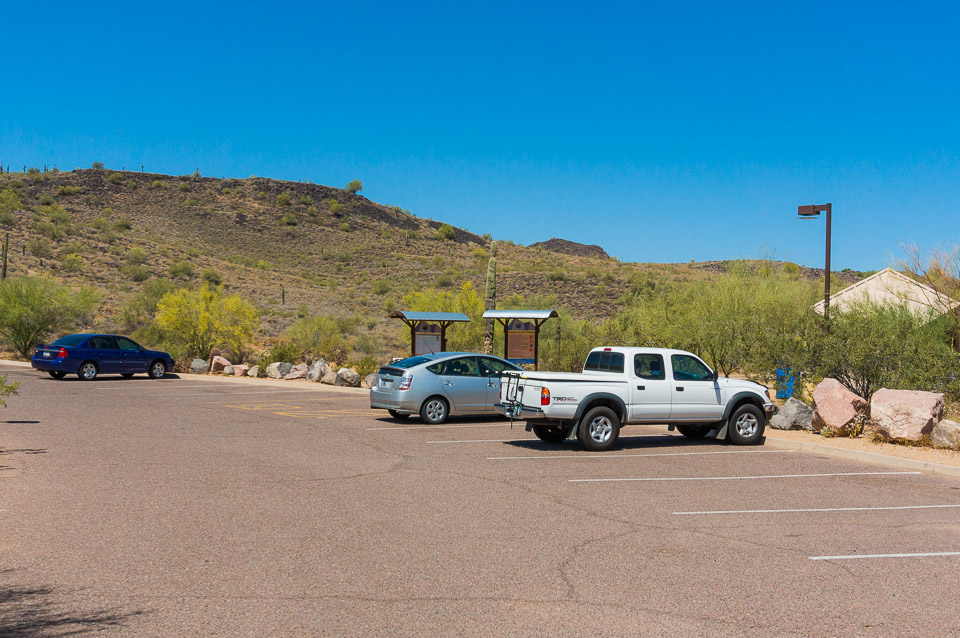 Deem Hills Trail - 39th Ave Parking Area