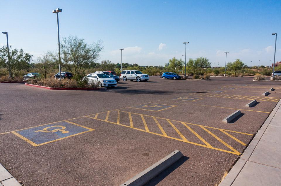 Papago Park - Parking Lot