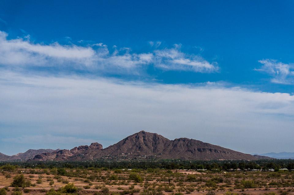 Papago Park - View of Camelback Mountain