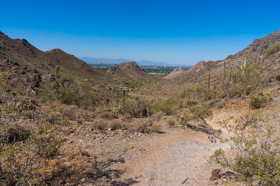 Trail 340 - Overlooking Phoenix
