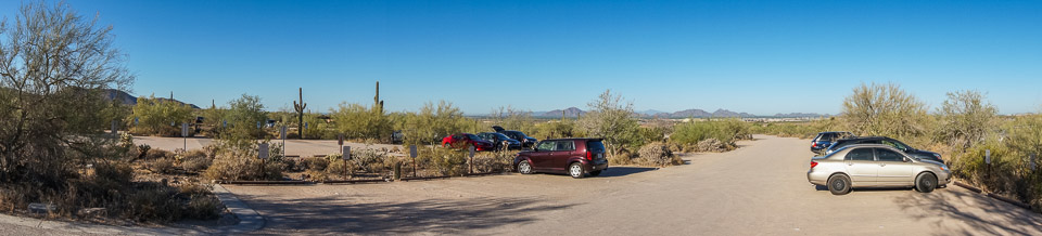 Mcdowell Sonoran Preserve - parking lot