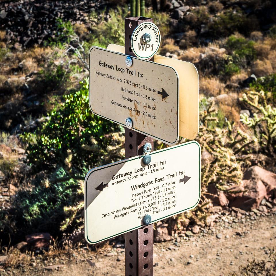 Mcdowell Sonoran Preserve - Signage