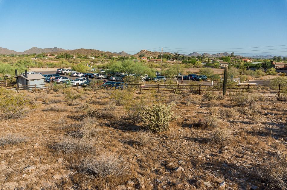 Trail 100 - 40th Street Parking Lot